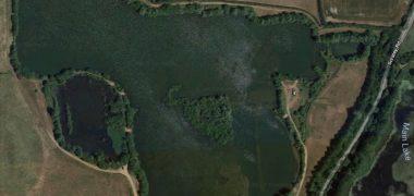 Lofts Lake in Maldon, Essex